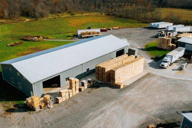 ePallet storage and manufacturing facility