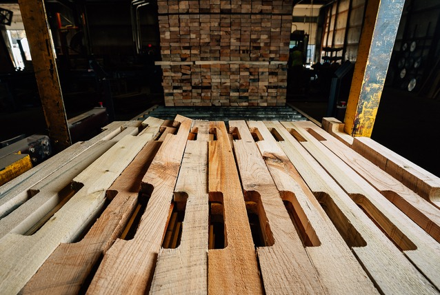 pallet parts for remanufacturing