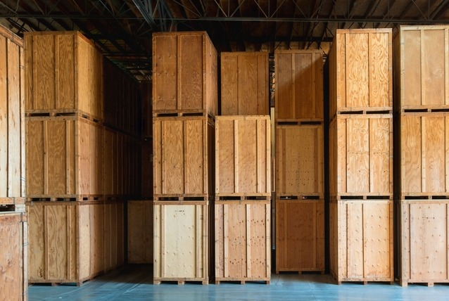 custom-built wooden boxes for shipping
